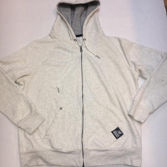 efdde961 New Balance Essentials Full Zip Hoodie Sweatshirt